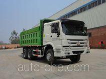 华威驰乐牌SGZ5250ZLJZZ4W43型自卸式垃圾车