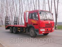 Sinotruk Huawin SGZ5252TPBCA3 flatbed truck
