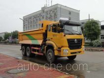 华威驰乐牌SGZ5255ZLJZZ5型自卸式垃圾车