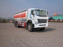 华威驰乐牌SGZ5259GFLZZ3W521型粉粒物料运输车