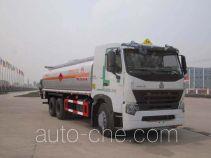 Sinotruk Huawin SGZ5259GHYZZ3W521 chemical liquid tank truck
