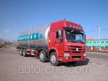 华威驰乐牌SGZ5310GFLZZ4W46L型低密度粉粒物料运输车