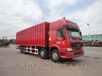 华威驰乐牌SGZ5310XXYZZ3W46型厢式运输车