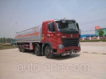 Sinotruk Huawin SGZ5319GHYZZW46 chemical liquid tank truck