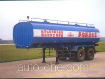 华威驰乐牌SGZ9270GSS-G型洒水半挂车