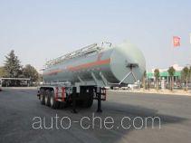 华威驰乐牌SGZ9350GFW型腐蚀性物品罐式运输半挂车