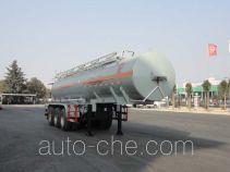 华威驰乐牌SGZ9400GFW型腐蚀性物品罐式运输半挂车