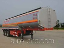 Sinotruk Huawin SGZ9401GHY chemical liquid tank trailer