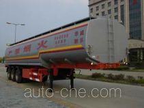 华威驰乐牌SGZ9401GYY型运油半挂车