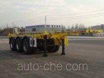 Sinotruk Huawin SGZ9401TWY dangerous goods tank container skeletal trailer