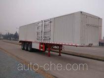 Sinotruk Huawin SGZ9401XXYA box body van trailer