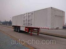华威驰乐牌SGZ9401XXYA型厢式运输半挂车