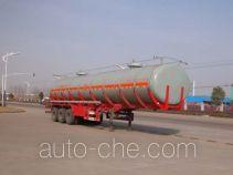 华威驰乐牌SGZ9403GHY型化工液体运输半挂车