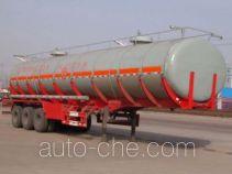 Sinotruk Huawin SGZ9403GHY chemical liquid tank trailer