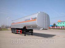 华威驰乐牌SGZ9407GYY型运油半挂车