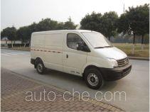 大通牌SH5042XXYA9D4-W型厢式运输车