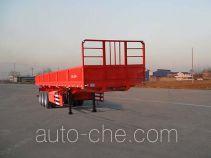 红荷北斗牌SHB9380Z型自卸半挂车