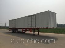 Honghe Beidou SHB9400XXY box body van trailer
