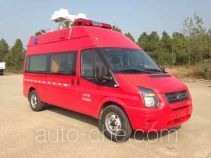 赛沃牌SHF5030XXFTZ60型通讯指挥消防车