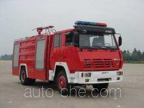 赛沃牌SHF5160GXFPM50型泡沫消防车