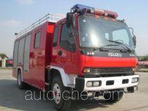 赛沃牌SHF5160GXFPM60型泡沫消防车