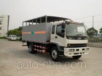 赛沃牌SHF5160XQP型气瓶运输车