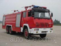 赛沃牌SHF5250TXFGP90型泡沫干粉联用消防车