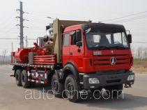 Sand control pump truck