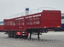 梁昇牌SHS9400CCYDE型仓栅式运输半挂车