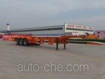 Liangsheng SHS9400TJZE container transport trailer