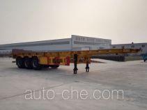 Liangsheng SHS9400TWY dangerous goods tank container skeletal trailer