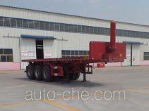 Liangsheng SHS9400ZZXP flatbed dump trailer