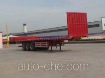 Liangsheng SHS9401ZZXP flatbed dump trailer