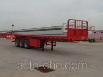 Liangsheng SHS9402ZZXP flatbed dump trailer