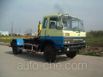 Shanghuan SHW5100ZXX detachable body garbage truck
