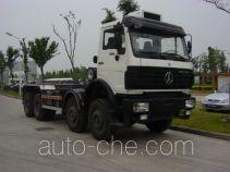 Shanghuan SHW5312ZXX detachable body garbage truck