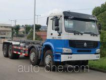 Shanghuan SHW5314ZXX detachable body garbage truck