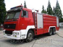 Shanghai SHX5250GXFSG110 fire tank truck