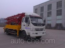 时越牌SHY5161THB25X-4M型混凝土泵车