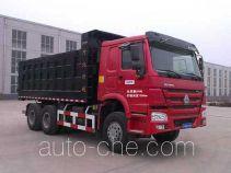 Shiyue SHY5251TBWLH58 asphalt mixture transport insulated dump truck