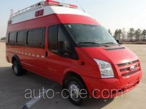 Jieda Fire Protection SJD5041XXFTZ1000/Q communication fire command vehicle