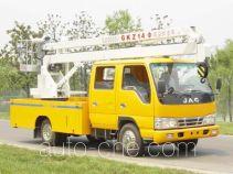 Sujie SJD5050JGKZ14 aerial work platform truck