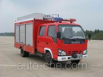 捷达消防牌SJD5050TXFJY120W型抢险救援消防车