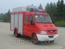 捷达消防牌SJD5050TXFJY73Y型抢险救援消防车