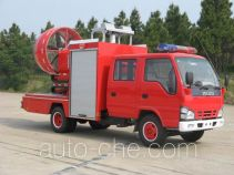 捷达消防牌SJD5050TXFPY19W型排烟消防车