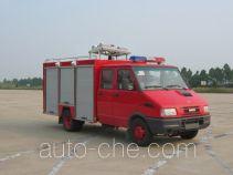 苏捷牌SJD5050TXFQJ73型抢险救援消防车