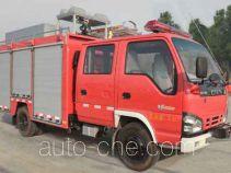 捷达消防牌SJD5050XXFQC73/W型器材消防车