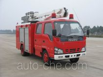 Jieda Fire Protection SJD5060TXFZM50W lighting fire truck