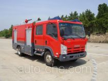Jieda Fire Protection SJD5100GXFAP33W class A foam fire engine