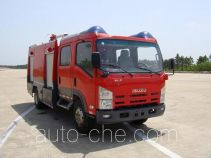 捷达消防牌SJD5100GXFPM35W型泡沫消防车